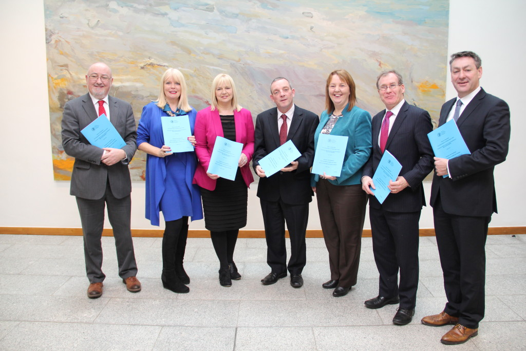 Jillian at the Joint Health Committee Launch of the Report on Affordable and Quality Childcare