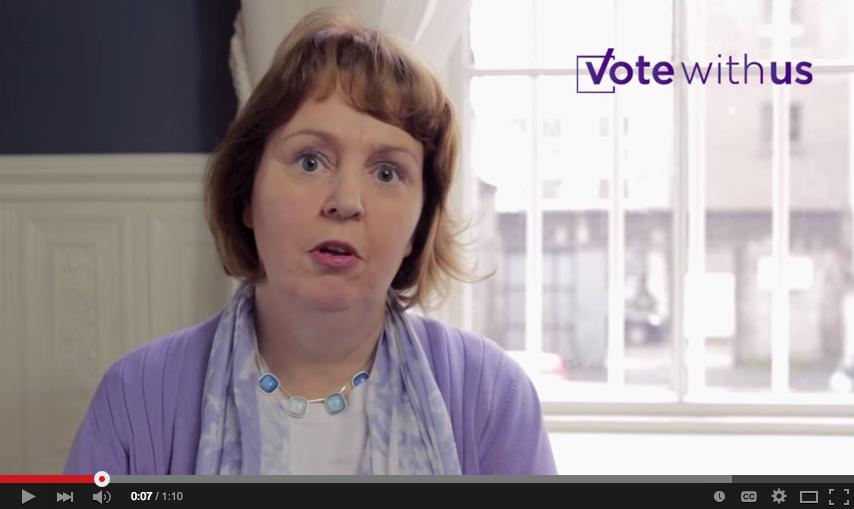 Jillian van Turnhout_vote with us.