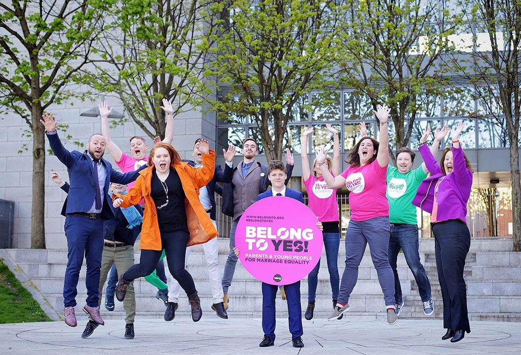 Jillian at Launch of BelongTo Campaign For Marriage Equality