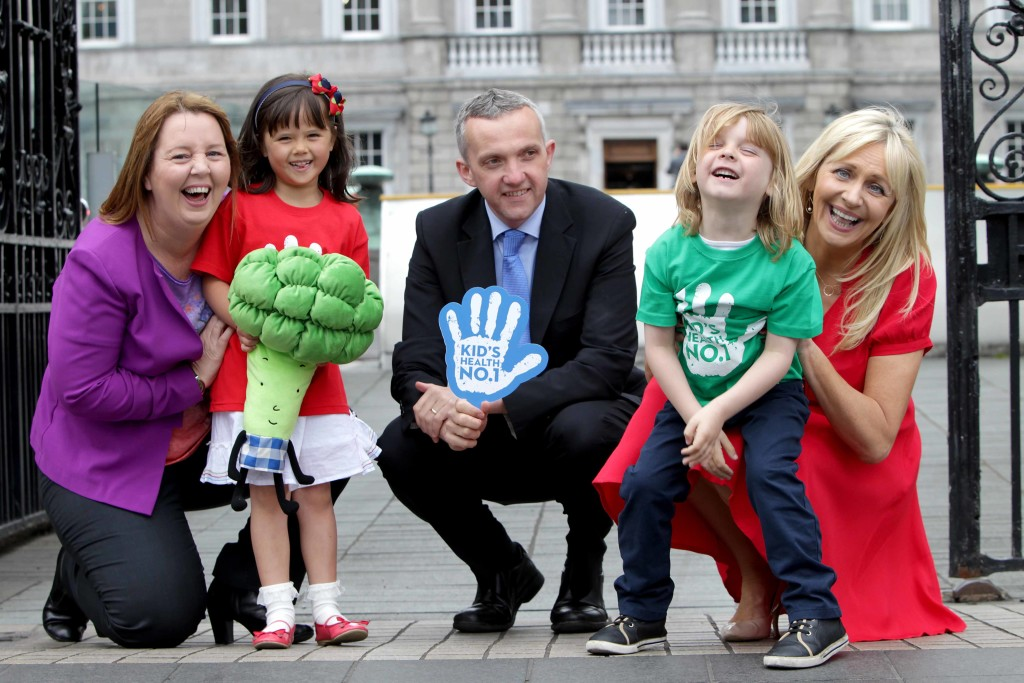 Jillian with Professor Donal O'Shea and Irish TV presenter Miriam O'Callaghan