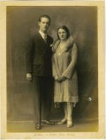 abt 1930 John Francis Hassett and Mary Catherine Foley my Grandparents