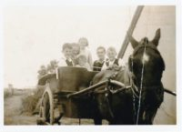 abt 1947 Dad Michael Hassett with his 5 siblings in Cromane