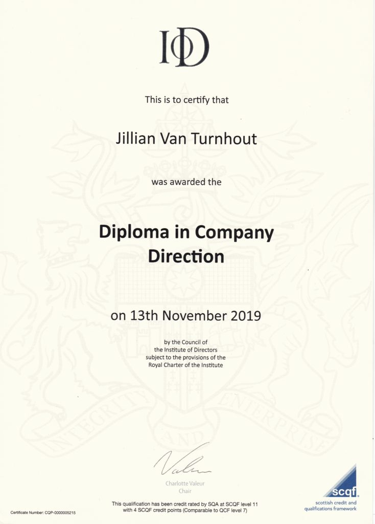 Diploma in Company Direction